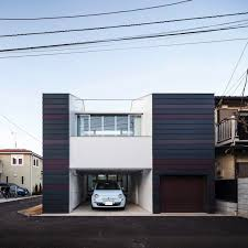 a split level small house in tokyo for a couple