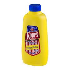 koops mustard koops mustard original yellow 18 0 oz from mariano s instacart