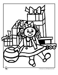 christmas doll coloring woo jr kids activities