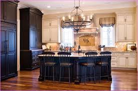 Antique Black Kitchen Cabinets White Kitchen Cabinets With Black Island Home Design Ideas
