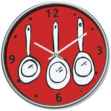 horloge cuisine pendules de cuisine horloge pendule cuisine lunch couverts bd