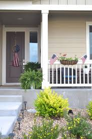 4th of july front porch decor inspiration the daily hostess