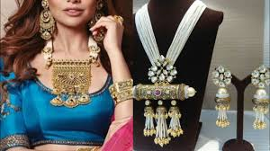 big gold fashion necklace images Latest maharani pendant set design ideas big pendant set necklace jpg