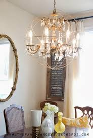 How To Make A Mini Chandelier How To Create A Chandelier Chandelier Ideas