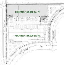 industrial building floor plan dedeaux properties