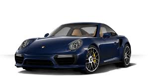 how will you order your 2017 porsche 911 turbo s
