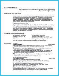 Ccnp Resume Format Ccna Resume Format Ccnp Network Engineer Resume Free Word