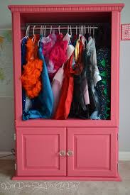 dress up clothes wardrobe what does she do all day