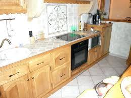 plan de travail cuisine chene massif cuisine en chene massif beautiful meuble cuisine massif porte