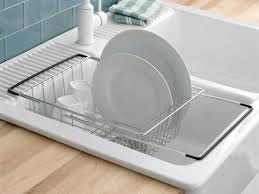 Kitchen Sink Tray 31 Kitchen Sink Dish Racks Collapsible Dish Rack W Drain Board
