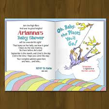storybook themed baby shower dr seuss oh baby places you ll go baby shower invitation shower
