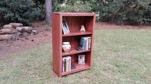 edgefield farmhouse bookcase rustic bookcase bookshelf