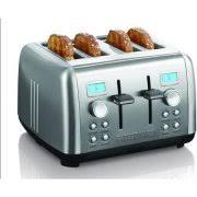 Cuisinart Cpt 435 Countdown 4 Slice Stainless Steel Toaster Cuisinart 2 Slice Compact Metal Toaster Cpt 415 Walmart Com