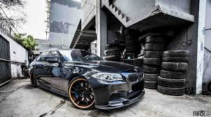 custom black bmw premier autoworkerz black bmw f10 m5 photoshoot by fidoklik gtspirit