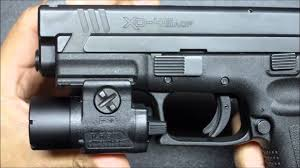 springfield xd tactical light the springfield armory xd 45 service model review youtube