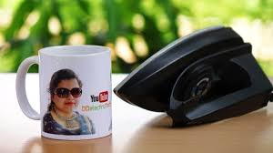 how to print your photo on coffee mug at home using electric