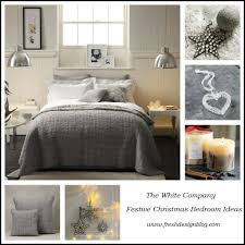 the white company christmas bedroom competition fresh design blog