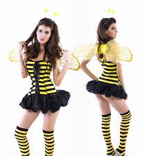 Honey Bee Halloween Costume Aliexpress Buy 3pcs Honey Bee Costume Lace