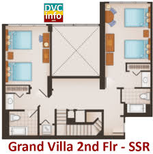 Bay Lake Tower Two Bedroom Villa Floor Plan Disney U0027s Saratoga Springs Resort U0026 Spa Dvcinfo Com