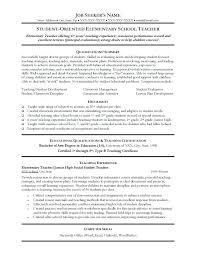 sample resume for college teaching position teacher resume sample