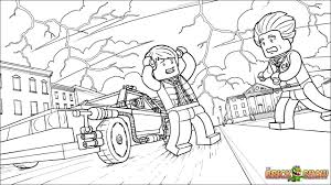 lego back to the future coloring pages free printable lego back