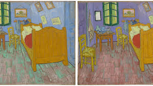 van gogh bedroom painting the walls in van gogh s iconic the bedroom were never meant to be blue