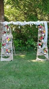 wedding arch ladder how to make a wedding arch out of ladders search