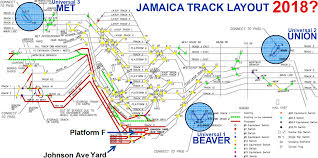 Jamaica Map Lirr Future Jamaica Station Track Layout Map 2018