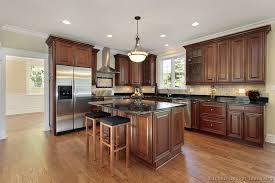 Traditional Tuesday Kitchen Of The Day Beautiful Cherry Cabinets - Kitchen with cherry cabinets