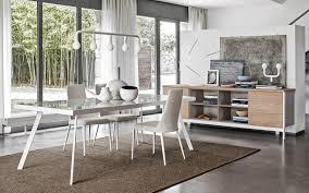 tavoli sala da pranzo calligaris tavolo da pranzo moderno in vetro in metallo rettangolare
