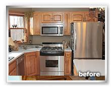 Bathroom Cabinet Refacing Before And After by Showplace Renew Cabinet Refacing Before And After Gallery