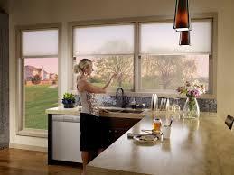Contemporary Kitchen Window Treatments Wonderful Modern Kitchen Window Treatments Hgtv Pictures Ideas