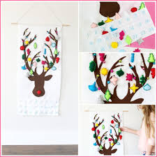 reindeer ornament advent calendar sugar bee crafts