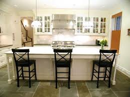 gray mini brick cooktop tiles with white grout transitional