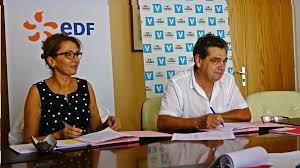 si e social d edf une convention signée pour la contribution d edf au fonds de