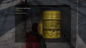 dayz 0 59 barrel with holes to use it as fireplace dayz tv