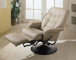 Swivel Recliner Chairs For Living Room Small Contemporary Leather Recliners Modern Contemporary Leather