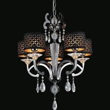 Black Chandelier With Shades Brizzo Lighting Stores 29
