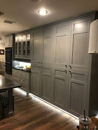 kitchen cabinets gray stain professional cabinet finisher custom stain or custom paint