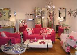 Best Pink Decor Images On Pinterest Home Pink Kitchens And - Pink living room design