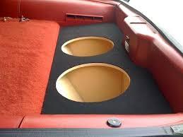 camaro speaker box for 82 92 chevy camaro custom sub box speaker subwoofer