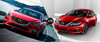 Nissan Altima 2016 - 2016 mazda 6 vs 2016 nissan altima