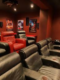 dedicated home cinemas and music listening room