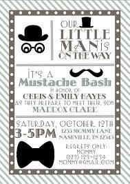 mustache baby shower invitations mustache baby shower invitations templates ba boy shower