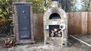stone age amerigo pizza oven and big pig masonry smoker youtube