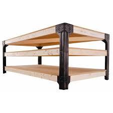 shop 2x4basics black polyresin workbench brackets at lowes com