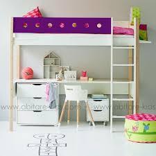 bureau flexa lit mezzanine flexa avec bureau lit 100 évolutif barrière de