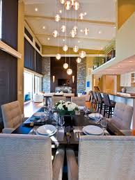 Dining Room Gorgeous Rain Drops Shaped Modern Chandelier For - Modern chandelier for dining room