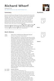 Military Resume Examples by Executive Chef Resume Samples Visualcv Resume Samples Database