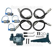 double spool double acting hydraulic remote valve kit fds3550